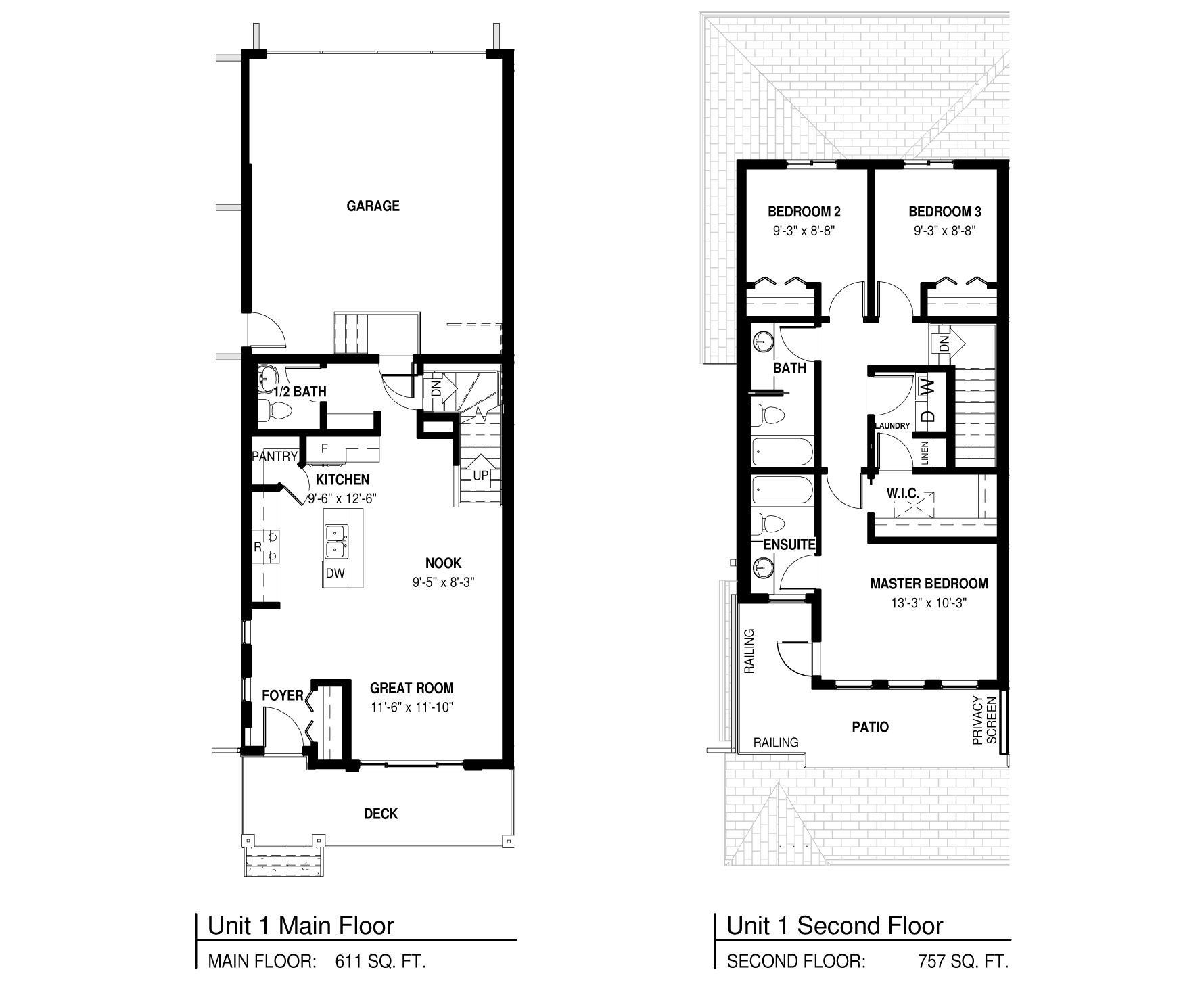 Vue 1 Floorplan